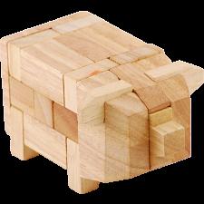 Animal Puzzle - Pig - European Wood Puzzles