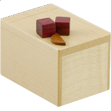 Karakuri Cake #1 - Cheese Cake - Other Japanese Puzzle Boxes