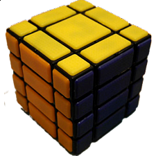 CT 4x4x4 B334 Bandage Cube - Black Body - Rubik's Cube & Others