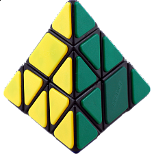 CT Bandaged Pyraminx - Black Body
