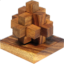 XS HeadStress - Newton's Comet - Wood Puzzles
