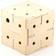 Cubiforms - Cubical Labyrinth - Wood Puzzles