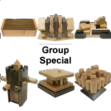 Group Special - a set of 6 Family Games puzzles