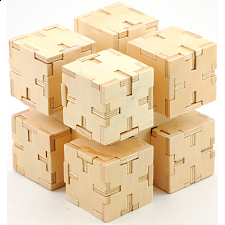 Cubiforms - Stacked Cubes - Wood Puzzles