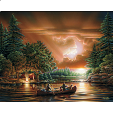 Terry Redlin - Evening Rendezvous - 1000 Pieces