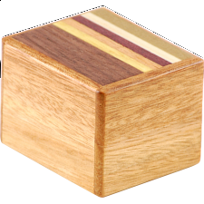 Mame 7 Step Natural Wood - Japanese Puzzle Boxes