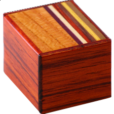 Mame 12 Step Natural Wood - Japanese Puzzle Boxes