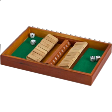 Shut the Box - Double Side 9 - Board Games