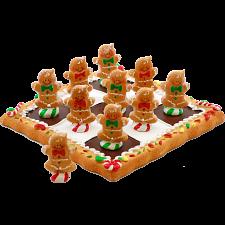 Tic Tac Toe - Gingerbread -