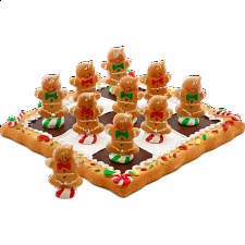 Tic Tac Toe - Gingerbread