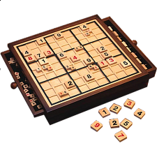 Wooden Sudoku Game Board