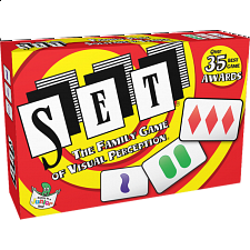 Set Card Game: The Family Game of Visual Perception - Board Games