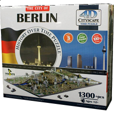 4D City Scape Time Puzzle - Berlin - 3D