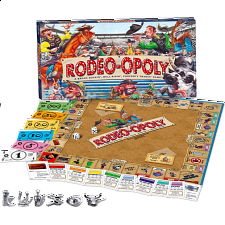 Rodeo-opoly - Board Games