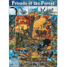 Friends of the Forest - 1000 Pieces