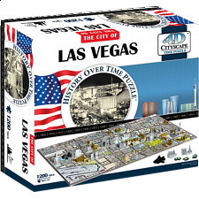 4D City Scape Time Puzzle - Las Vegas - 1001 - 5000 Pieces