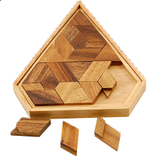 Diamond Puzzle - Wood Puzzles