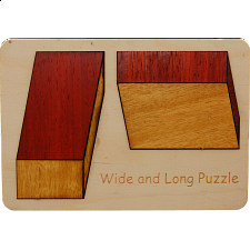 Wide and Long - Zulangzubreit - Wood Puzzles