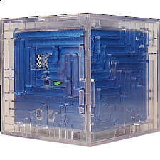 3D Ball Maze: Cube 1 - Metallic Blue
