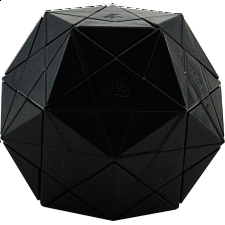Starminx 1 - Black body - Dino Dodecahedron DIY - Rubik's Cube & Others
