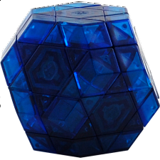 Gem Cube III -Clear Blue Body - Limited Edition DIY