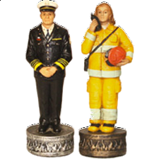 FireFighter - Chess Pieces - Themed
