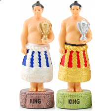 Japanese Sumo - Chess Pieces - Themed