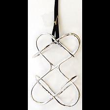 Puzzle Pendant - Double Heart -