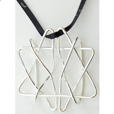 Puzzle Pendant - David's Star - Other Wire / Metal Puzzles