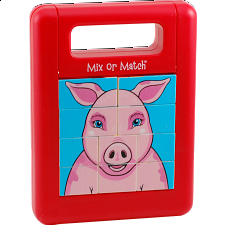 Mix or Match Puzzle - Farm Animals -