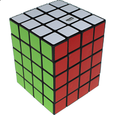 Fully Functional 4x4x5 Cube - Black Body - DIY -