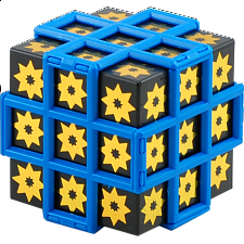 3x3x3 Sunflower Black Hole Cube