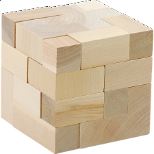 Dee Cube - Mini - Other Wood Puzzles