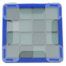 Svetnashki - Small - 4x4 - Optical Puzzle - Blue - Misc Puzzles