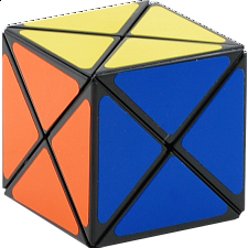 Dino Cube - Black Body - Rubik's Cube & Others