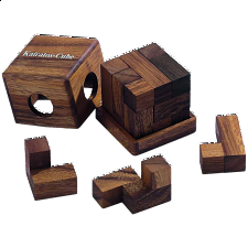 Kairatos Cube - European Wood Puzzles
