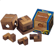 Theseus Cube - Wood Puzzles