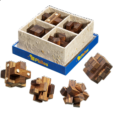 Puzzle Gift Set III - European Wood Puzzles