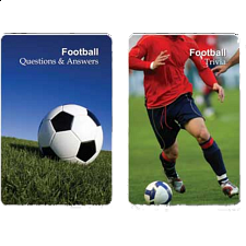 Playing Cards - English Football (Soccer) Trivia