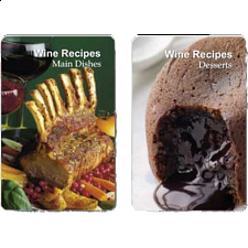 Playing Cards - Wine Recipes