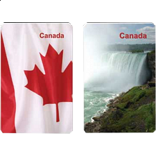 Playing Cards - Canada Facts - Games & Toys