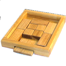 The Square Root - Wood Puzzles