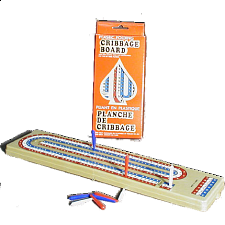 Plastic Folding Cribbage Board