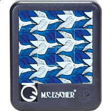 Sliding Pieces Puzzle - M.C. Escher : Birds - Misc Puzzles