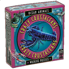 Crazy Crustaceans - Ocean Animals - Wildlife Puzzles - Tile Puzzles