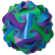 Cyclone Puzzle - Purple, Green and Blue - Search Results
