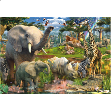 Ravensburger At the Waterhole - 18000 pc Puzzle - Search Results