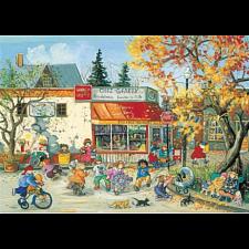 Fall Corner Store