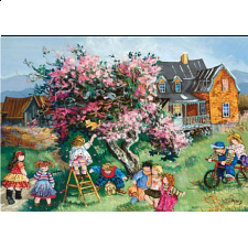 Kitten in the Tree - 1000 Pieces