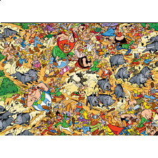 Asterix: Total Chaos - 1000 Pieces